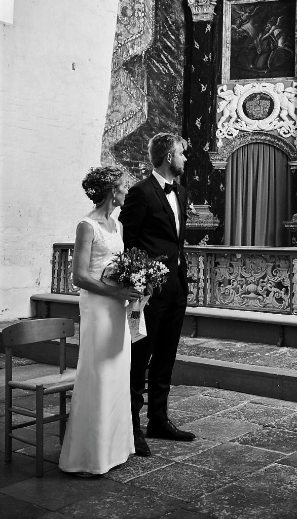 Enkel og klassisk brudekjole Buch couture