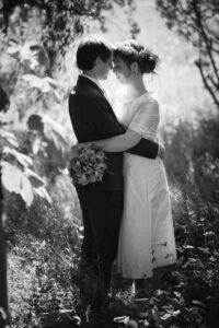 Unik skræddersyet brudekjole fra Buch Couture