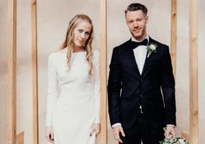 brudekjole trends 2021 minimalistisk brudekjole
