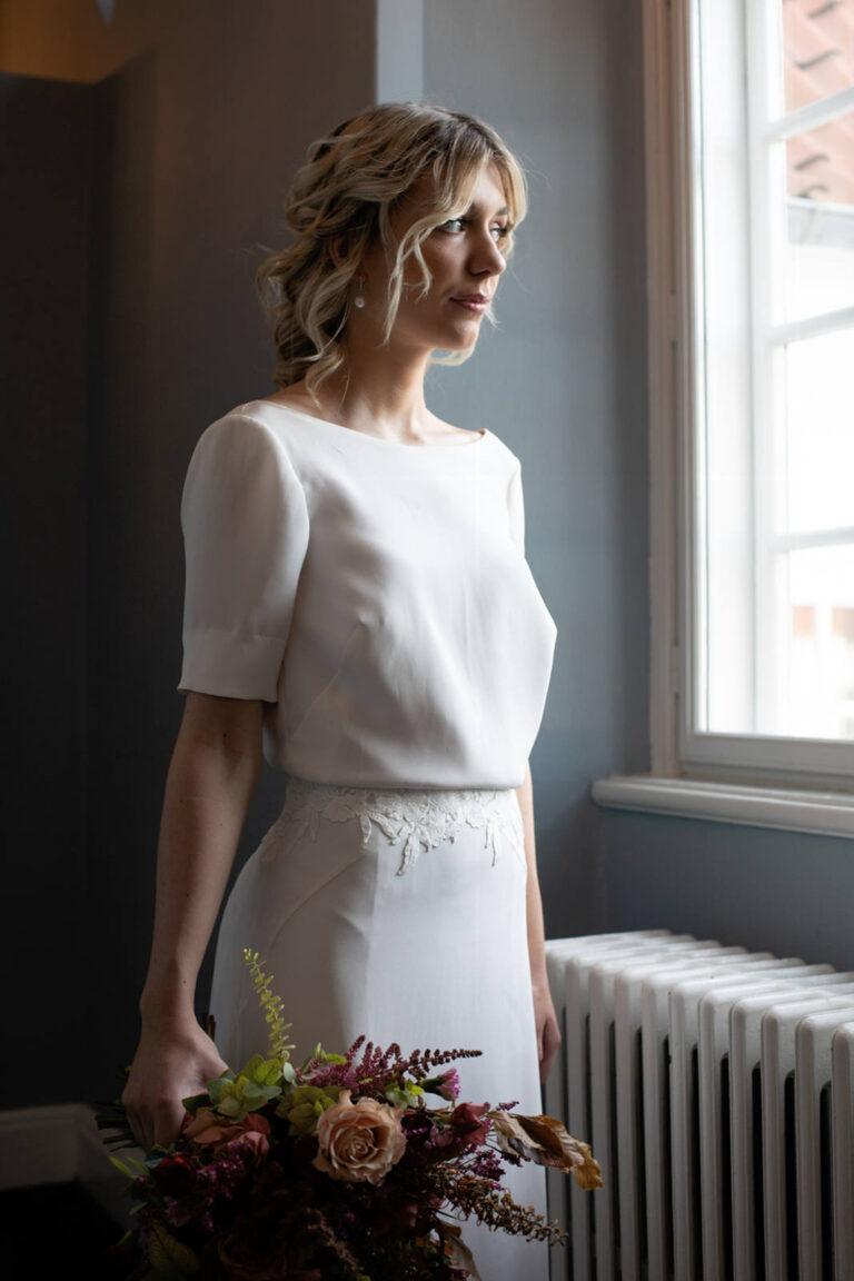 flot blonde i taljen for det feminine udtryk