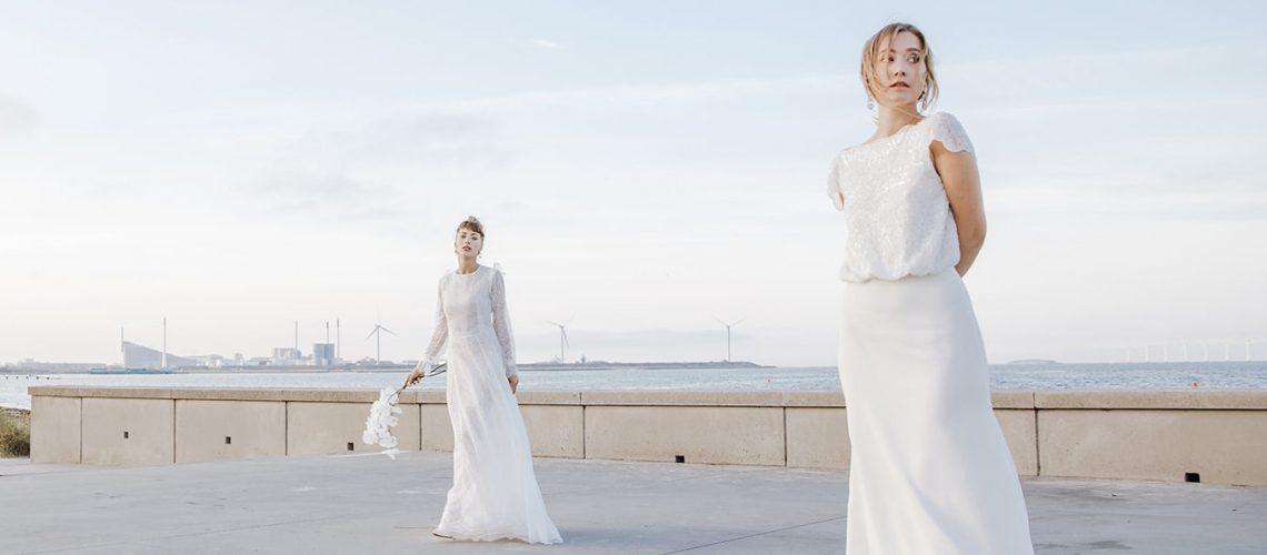 Brudekjole trends 2021 eksklusive brudekjoler